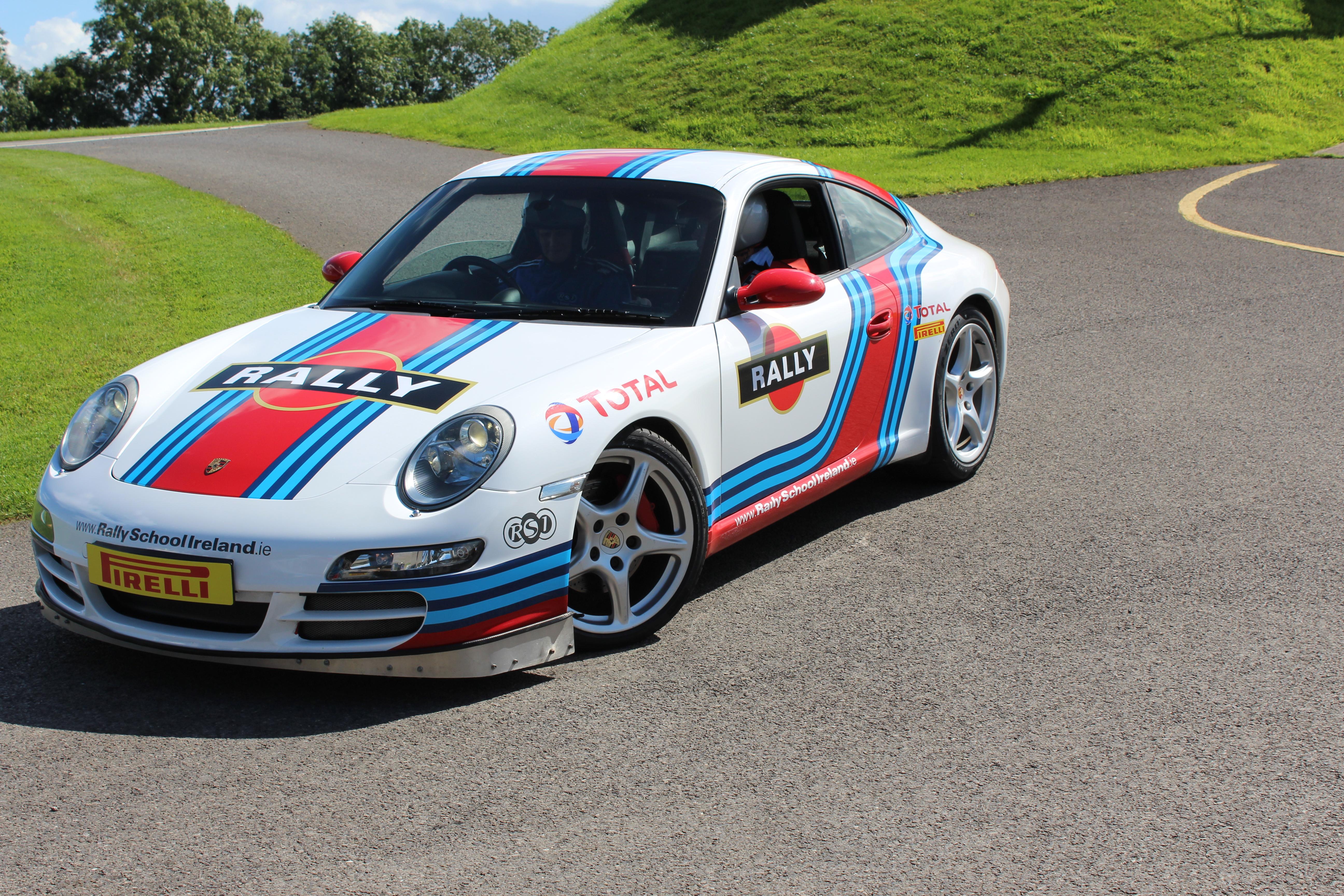 30 Laps Porsche Supercar Experience – Rally School Ireland