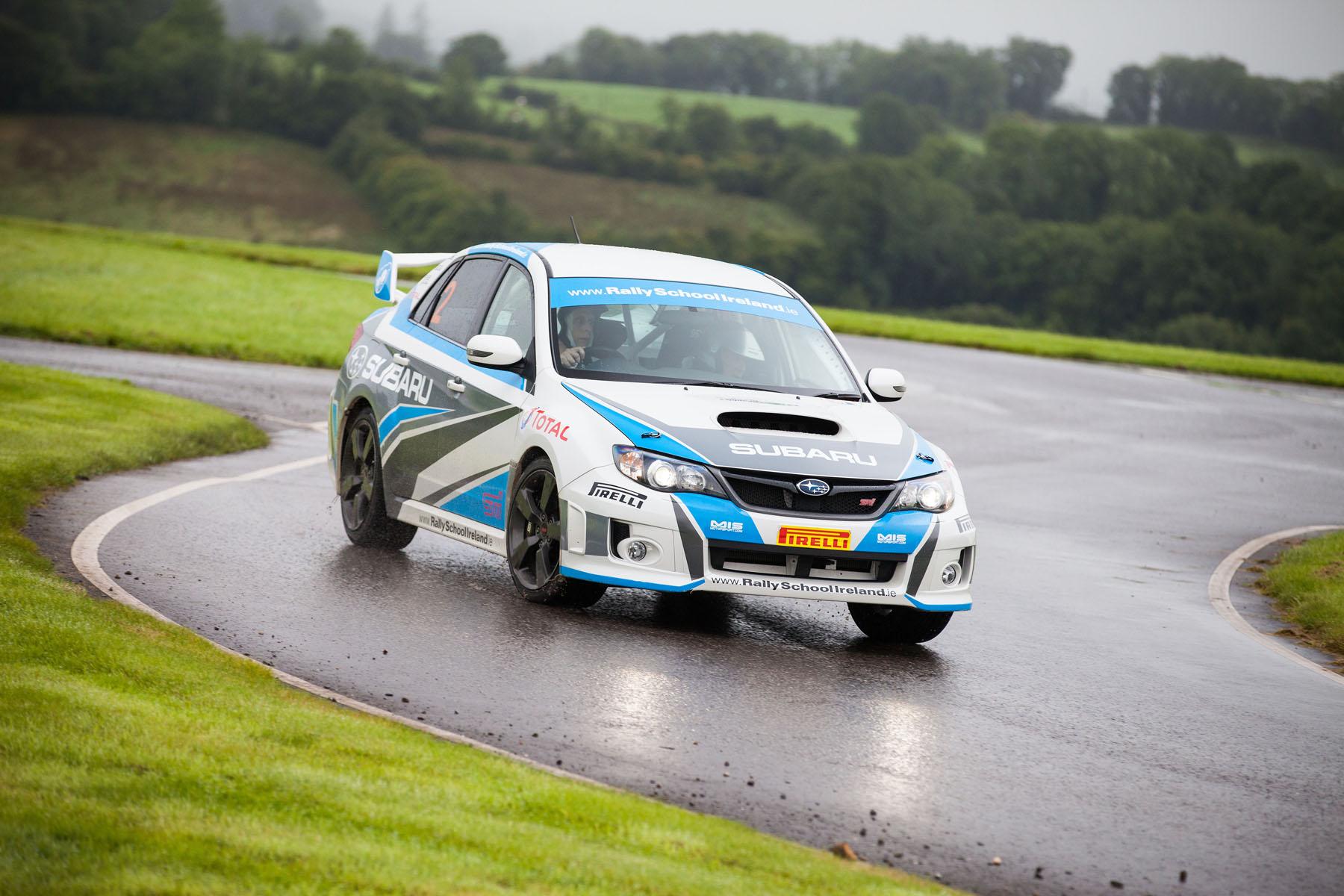 Subaru Turbo Rally Experience Half Day - 24 Laps - Rally School Ireland